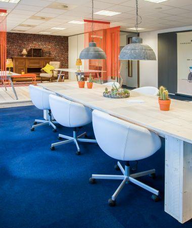 Kleurrijke Meetingrooms nabij Rotterdam