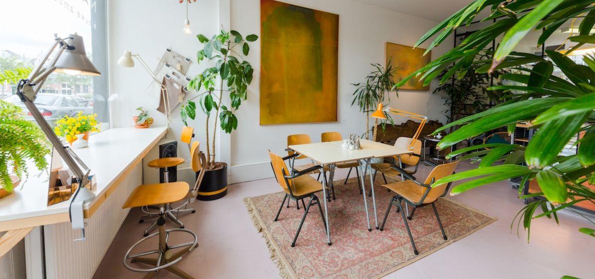 hippe art studio atelier in rotterdam noord inspiratie
