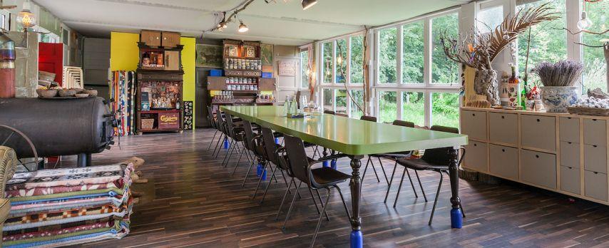 Veelzijdige Workshopruimte midden in het Park