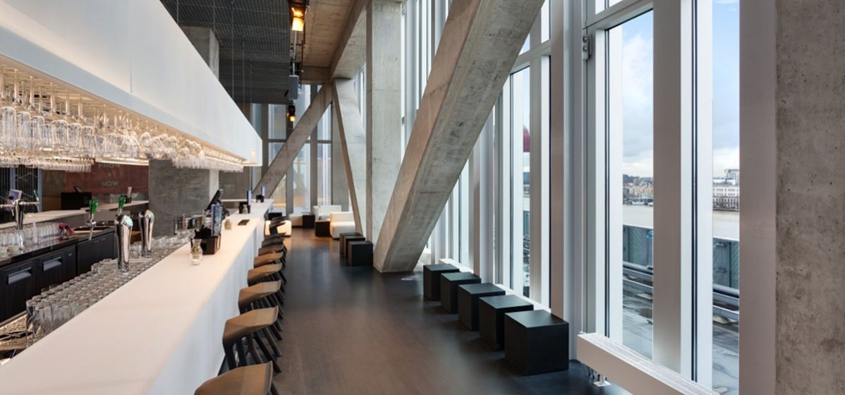 Designhotel met adembenemend uitzicht inspiratie op locatie for Designhotel rotterdam