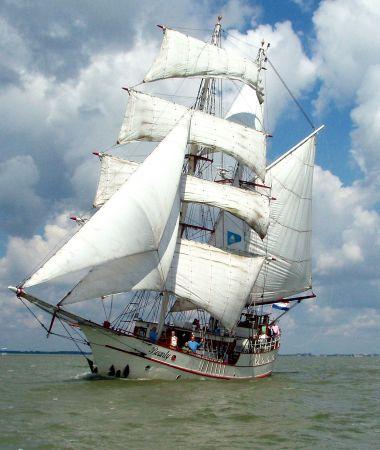 Luxe Zeilschip