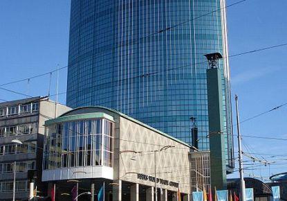 Beursgebouw in Hartje Rotterdam