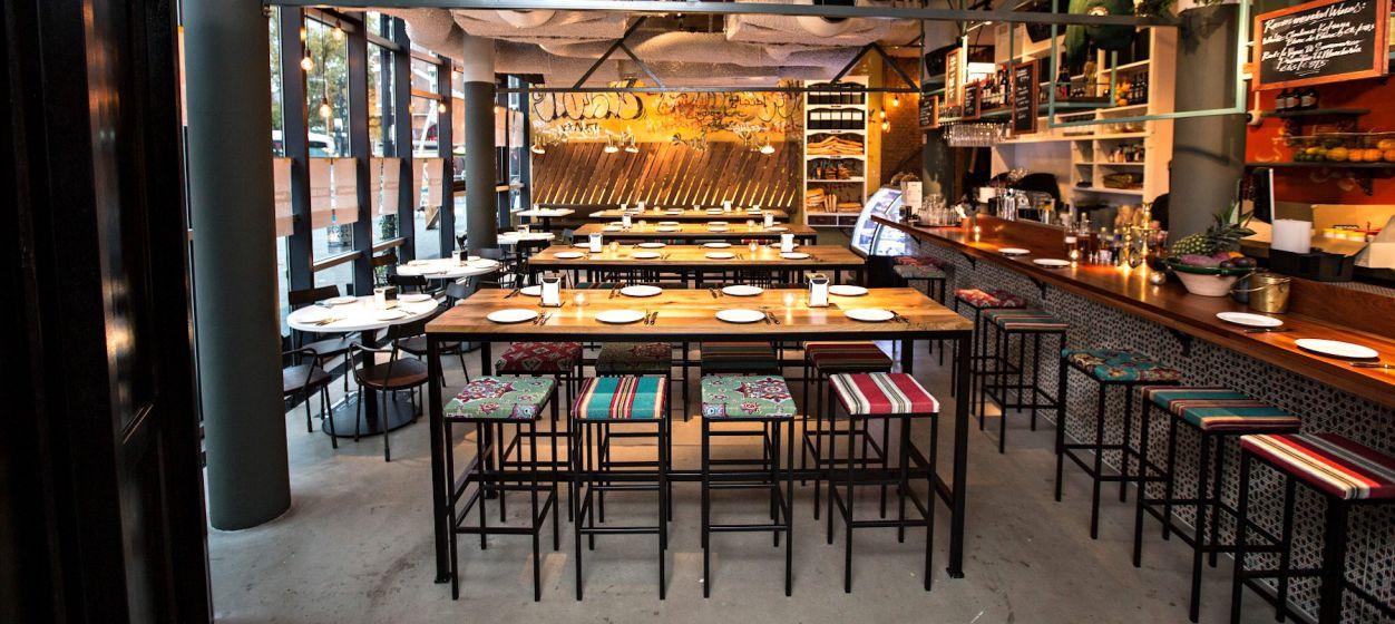 Kleurrijk Restaurant in Mediterrane Sferen Rotterdam