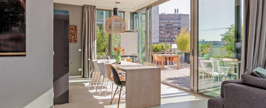 Penthouse met Enorm Dakterras in Stadshart