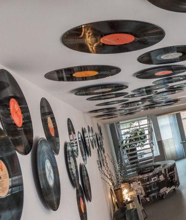 Inspirerend Vergaderen tussen Vinyl