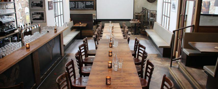 Vergadering of Borrel in Monumentaal Biercafé