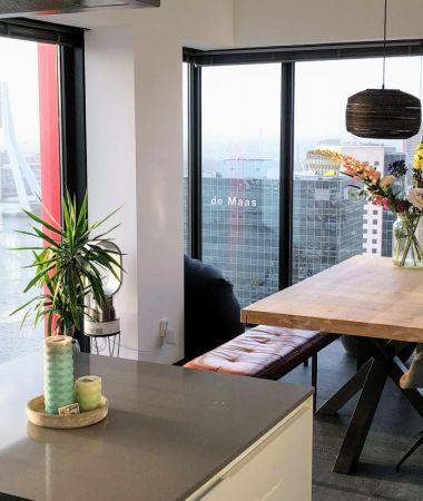Huiselijk Vergaderen met Panoramisch Uitzicht