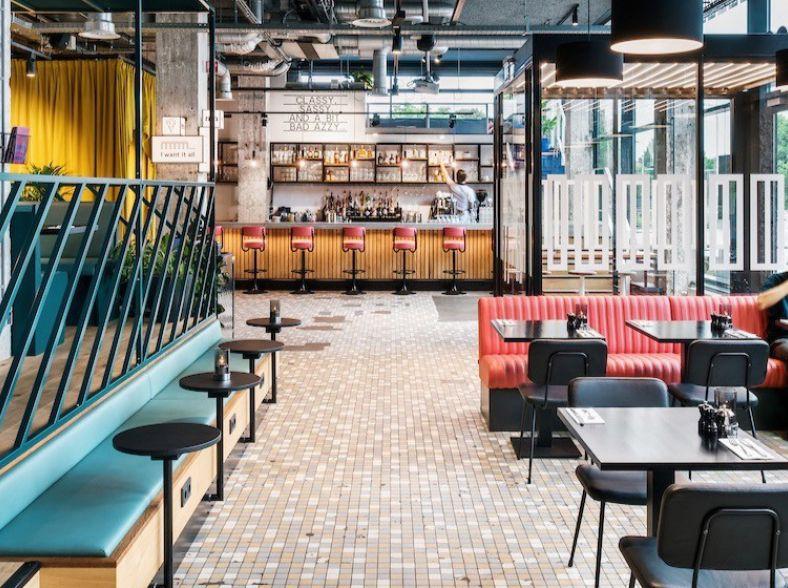 Modern Design Hotel in Rotterdam
