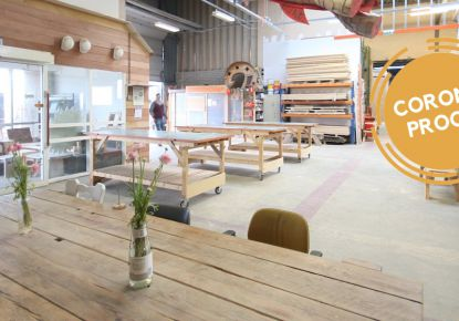 Creatieve Werkplaats aan de Rand van Rotterdam
