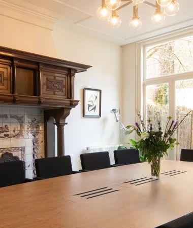 Huiselijke Vergaderlocatie in de Haagse Binnenstad