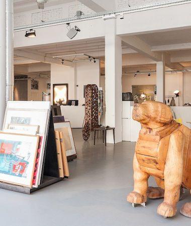 Eigentijdse Kunstgalerie in Hartje Centrum