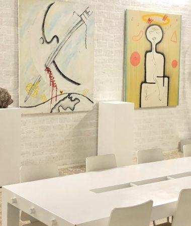 Inspirerende Kunstgalerie in Creatief verzamelgebouw