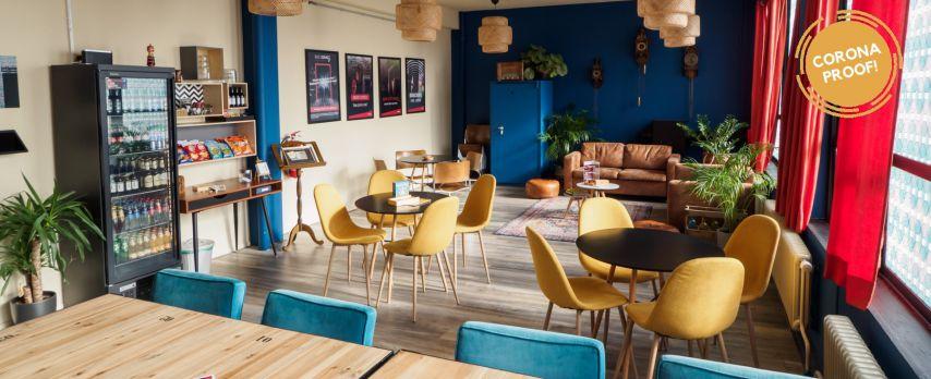 Vergaderen in Amsterdamse Escaperoom