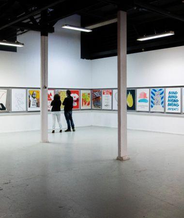 Vergaderen in een Kunst Centrum