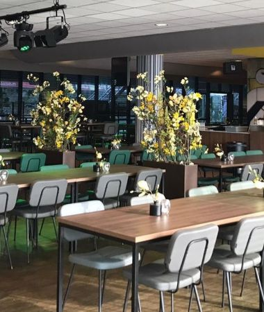 Voetbalstadion met Luxe Business Lounges