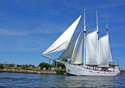 Aan Dek op Luxe Zeilschip
