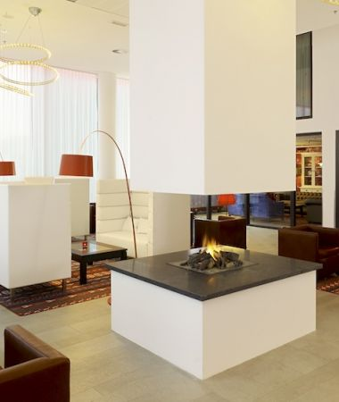 Modern Conferentiehotel met Designinrichting