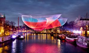 Ruimtes Amsterdam Light Tour - 30 november tot 21 januari 2018