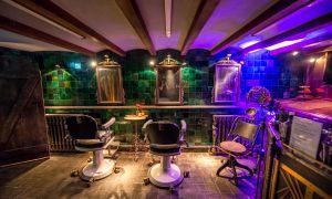 Ruimtes Begane grond, Cellar & Barbershop